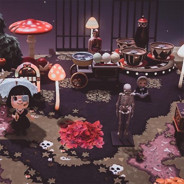 Halloween Carnival Design Inspo - ACNH