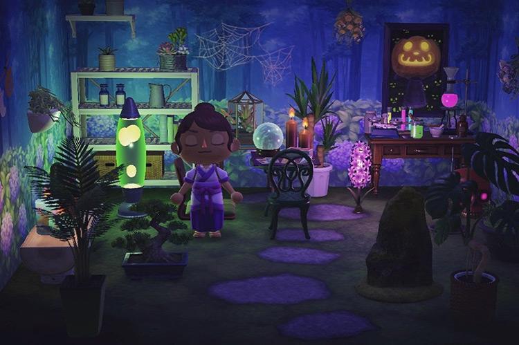 Spooky Secret Garden Design - ACNH Idea