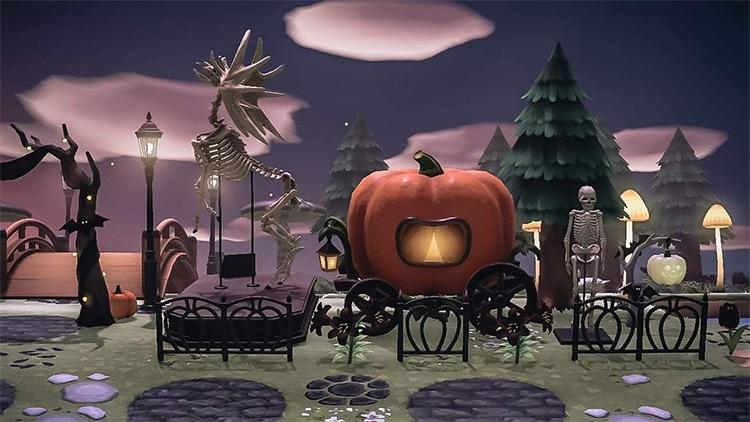 Scary Halloween Display - ACNH Idea