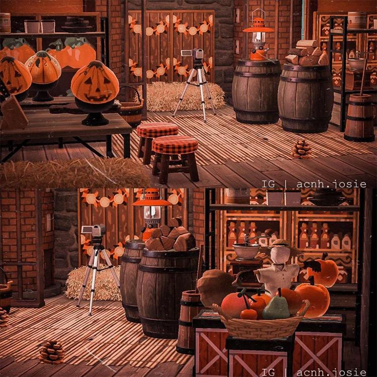 Halloween Market Design - ACNH Idea