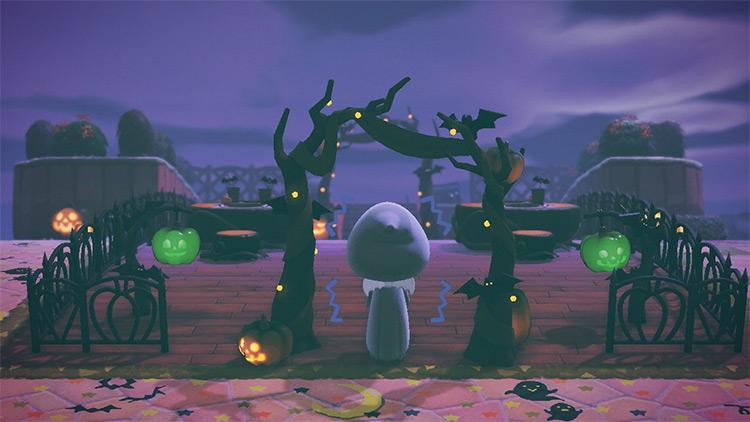 Eerie Island for Halloween Design Inspo - ACNH