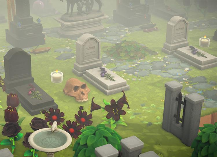 Spooky Graveyard for Halloween - ACNH