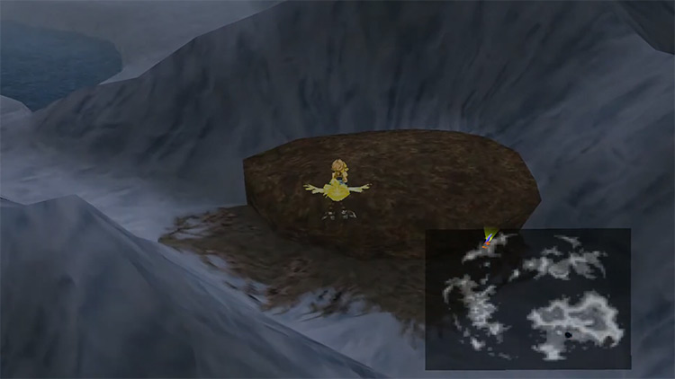 Chocobo Treasure Hunting Side Quest in FF9