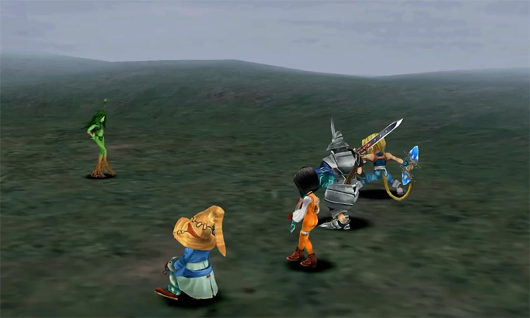Friendly Monsters in Final Fantasy IX