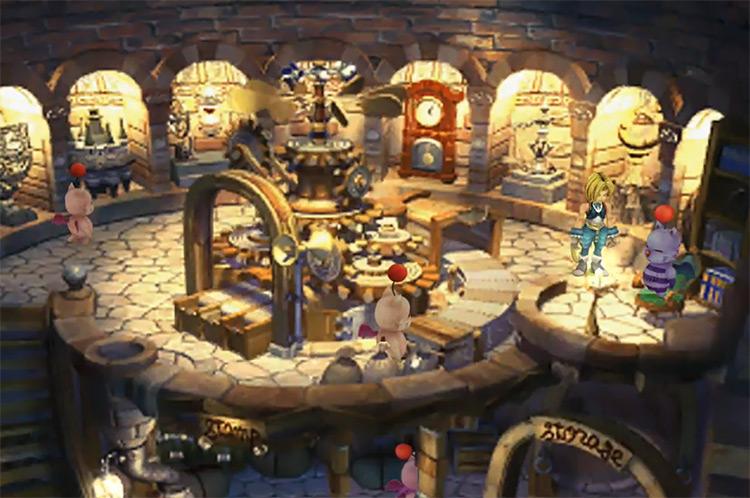 Mognet Side Quest in FF9