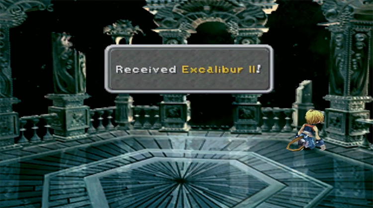 Excalibur II from FF9