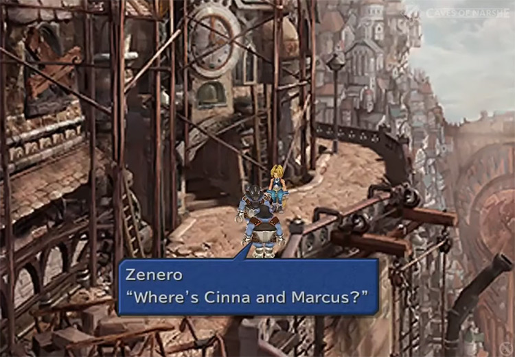 The Nero Family Side Quest in FF9