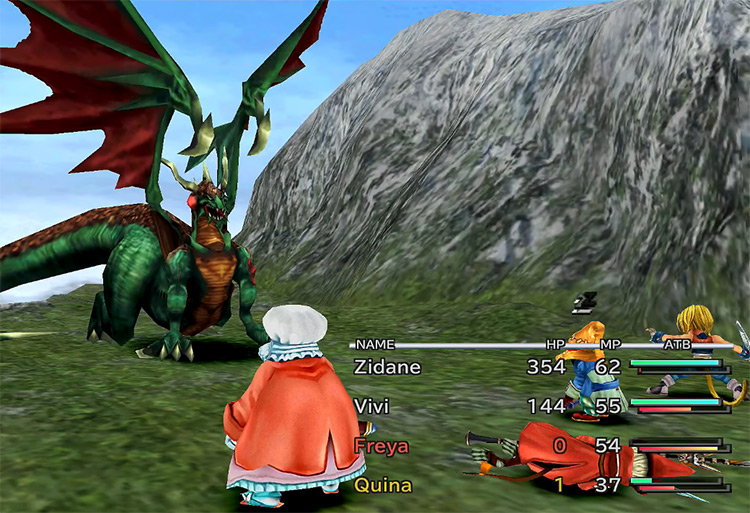 Popos Heights in Final Fantasy IX