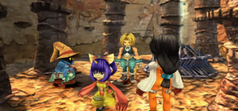 FF9 Party Members Close-up Screenshot