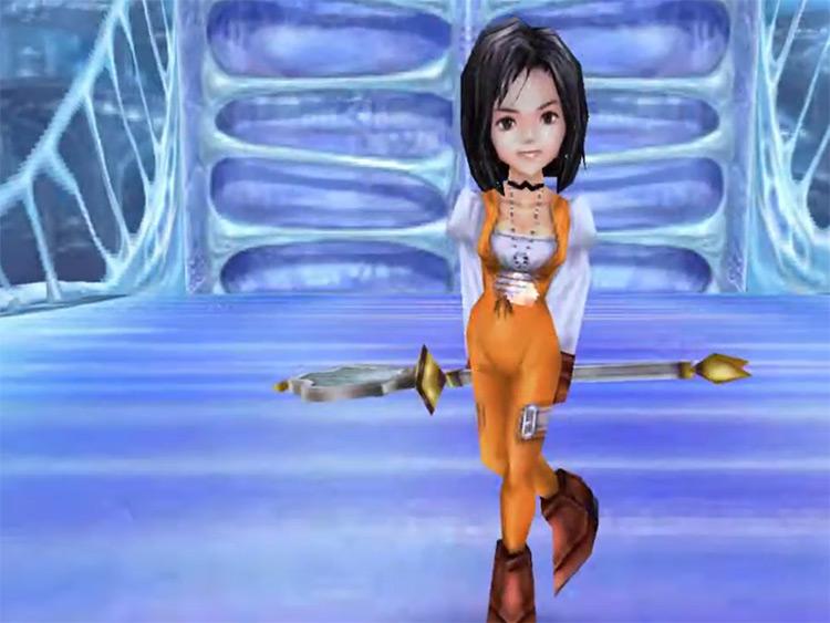 Dagger close-up screenshot Final Fantasy IX