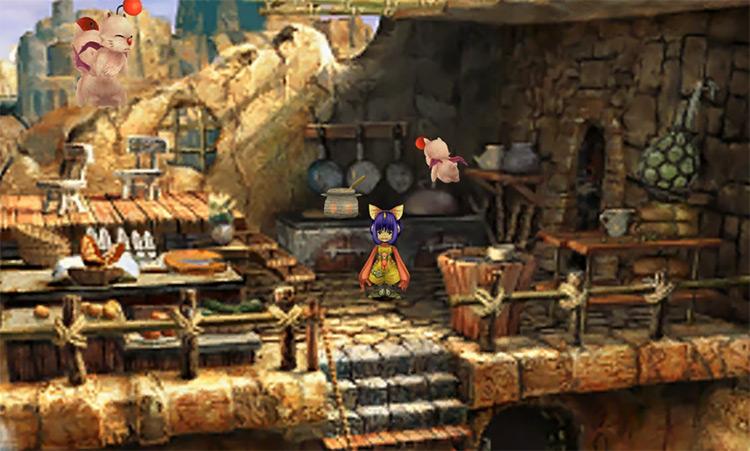 Eiko close-up screenshot in Final Fantasy IX