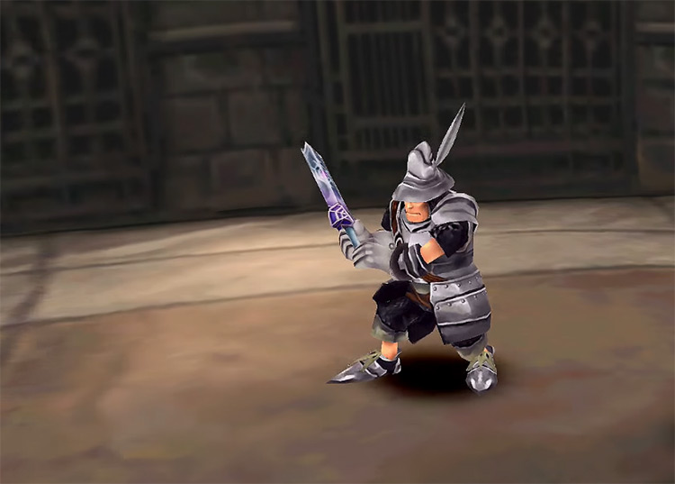 Steiner close-up from FF9