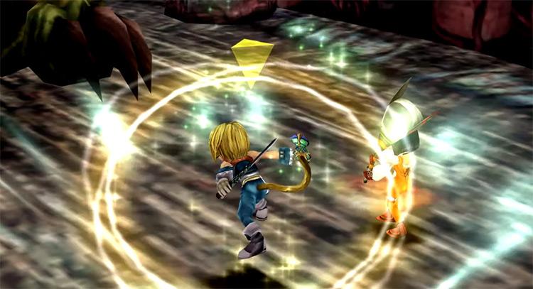 Zidane battle screenshot from FF9