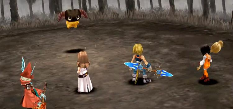 FF9 Friendly Yan Battle Screenshot