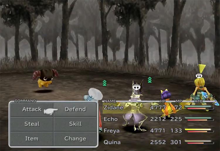 Friendly Yan enemy in Final Fantasy IX