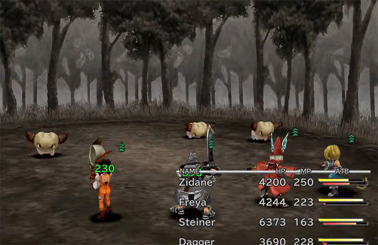 Yan enemy in FF9
