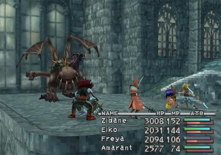 Chimera FF9 enemy