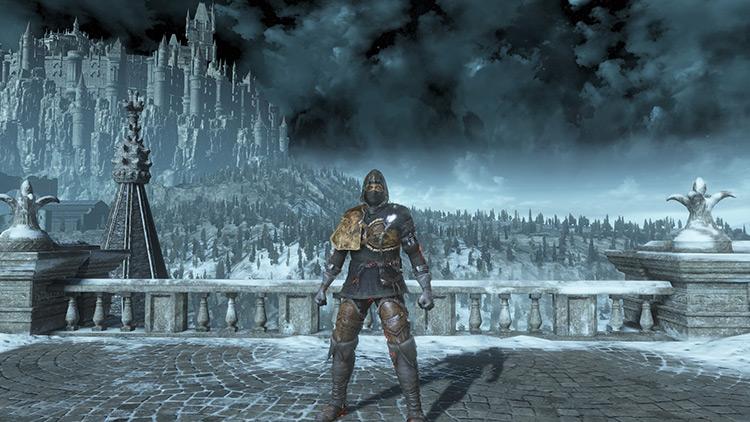 Black Leather Set from Dark Souls 3