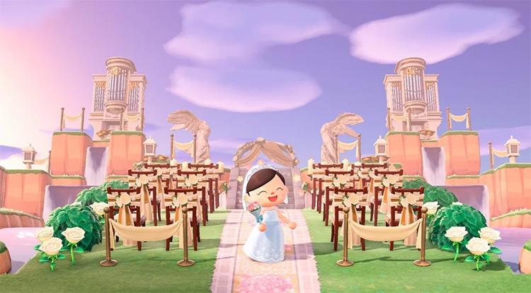 Cute Wedding Spot - ACNH Idea