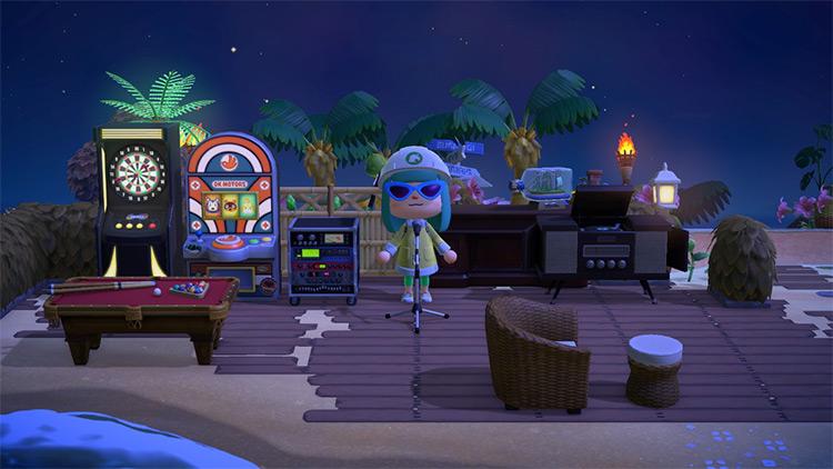 Gaming Area & Arcade on the beach - ACNH