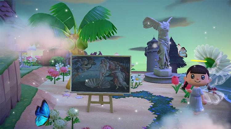 Art Gallery on the Beach - ACNH