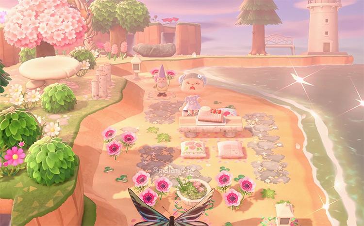 Fairycore Beach Idea - ACNH