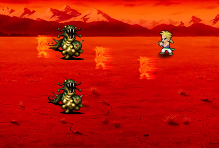 Rising Phoenix FF6 Blitz Screenshot