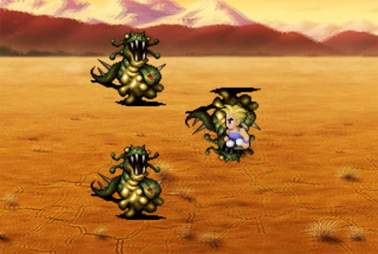 Meteor Strike FF6 Blitz Screenshot