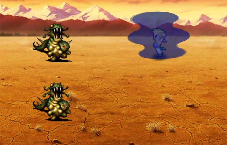 Chakra - Blitz Screenshot in FF6