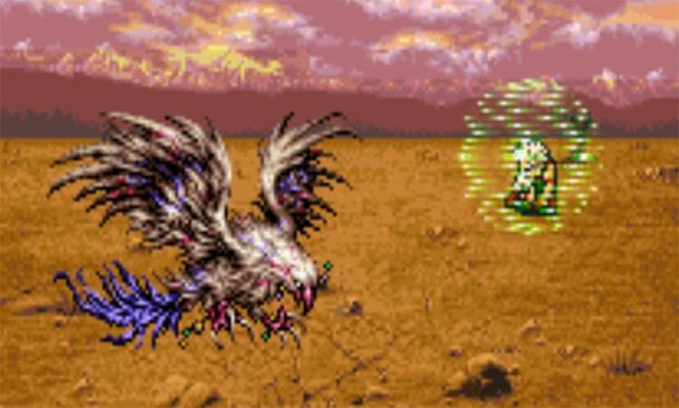 Mighty Guard FF6 Lore Screenshot