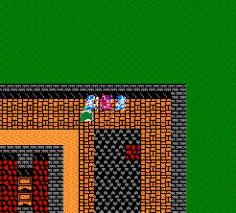 Dragon Warrior III NES gameplay
