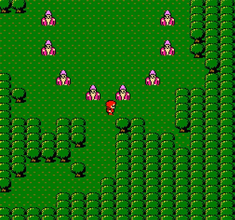 Final Fantasy 1 NES gameplay screenshot