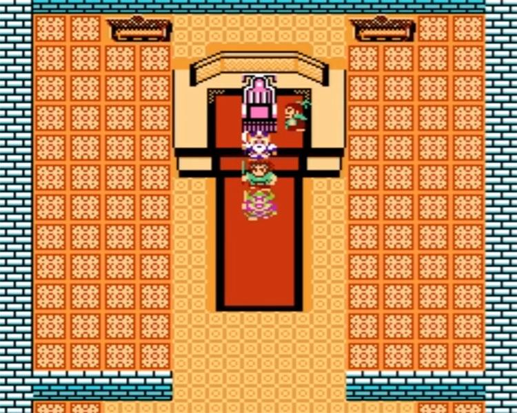 Destiny of an Emperor NES screenshot