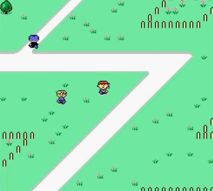 Mother Japanese SFC gameplay screenshot