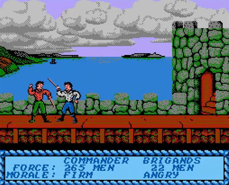 Sid Meier's Pirates! NES screenshot