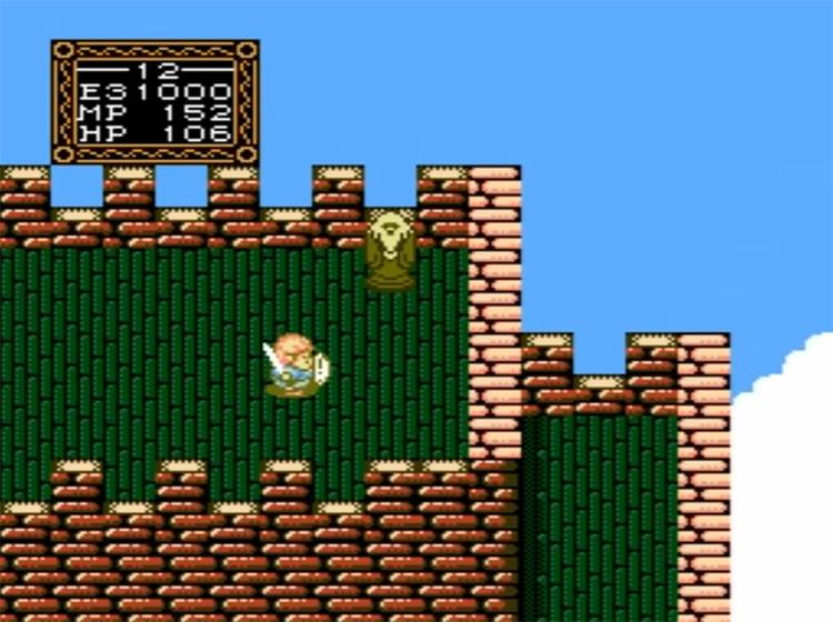 Willow RPG gameplay NES