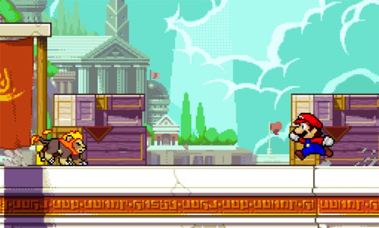 SM64 Mario - custom character in ROA