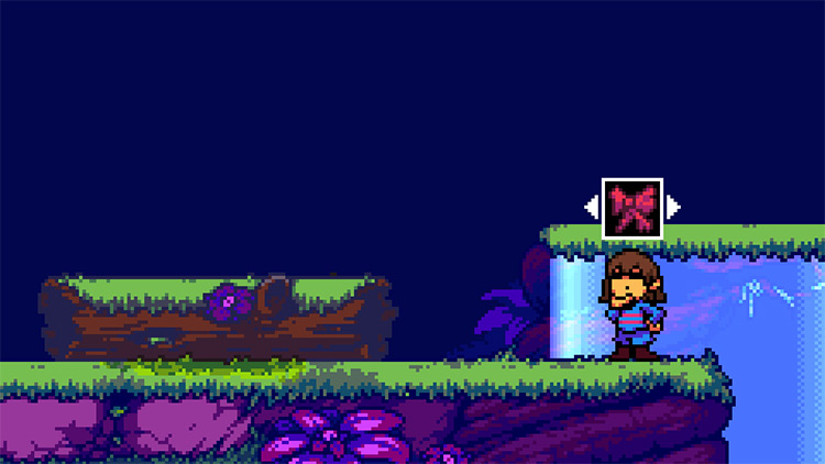 Frisk from Undertale in Rivals of Aether