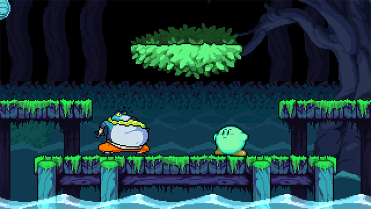 Kirby Rivals of Aether character