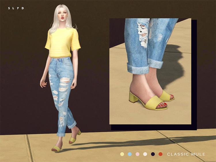 Classic Mules Shoes CC - TS4
