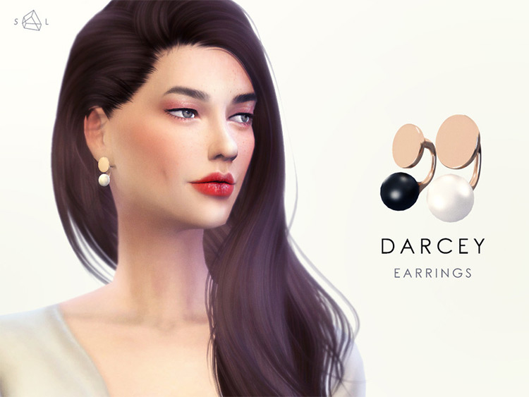 Darcey Earrings TS4 CC