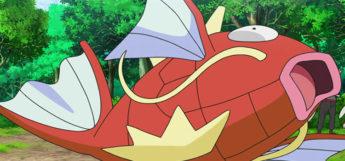 Magikarp in the Pokémon Anime