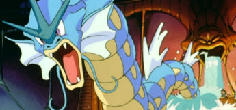 Gyarados in the Pokémon Anime