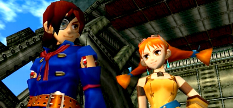 Skies of Arcadia Characters - Dreamcast Screenshot
