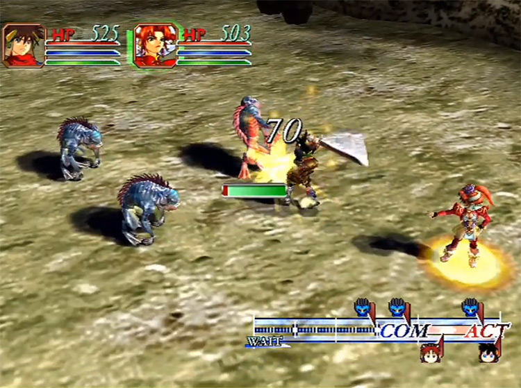 Grandia II Dreamcast screenshot