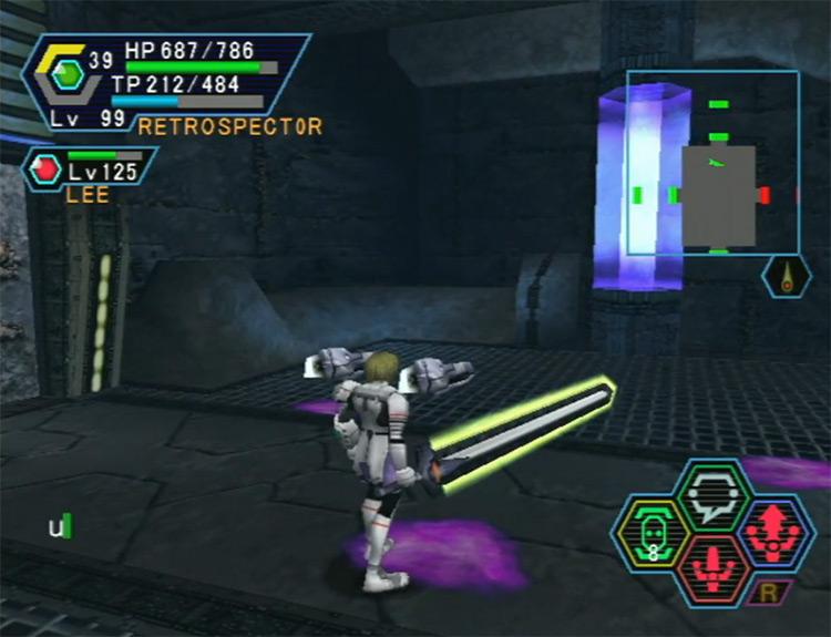 Phantasy Star Online Ver. 2 gameplay
