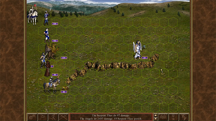 Heroes of Might & Magic III Dreamcast gameplay