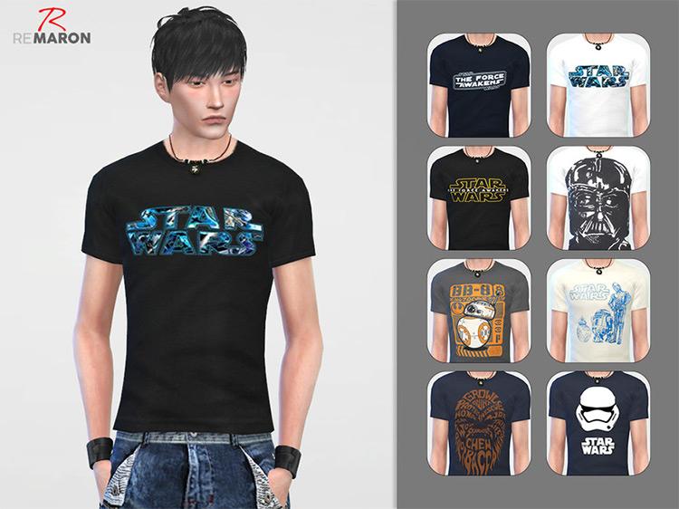 Star Wars Shirt for Men - TS4 CC