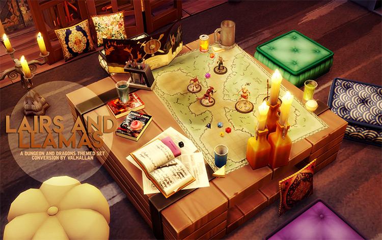 Dungeons & Dragons Set TS4 CC