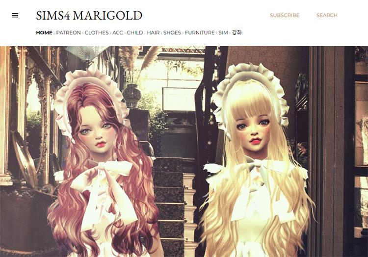 Sims4 Marigold Blog Screenshot
